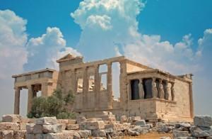 Erechtheion-Caryatides-Acropolis-Athens-Greece-300x196